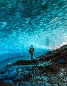 Mendenhall Glacier, Alaska - The 50 Most Beautiful Places in America - Photos Places To Travel, Places To See, Travel Destinations, Mendenhall Ice Caves, Beautiful Places In America, Wonderful Places, Juneau Alaska, Blue Hole, Honeymoon Places