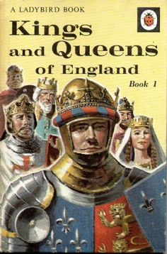 KINGS AND QUEENS Vintage Ladybird Book 1 History Series 561