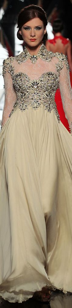 The Mireille Dagher Haute Couture F/W 2013-2014