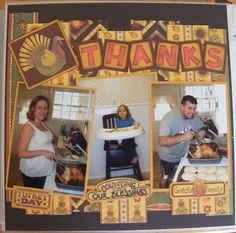 Thanksgiving Page 1 - Scrapbook.com