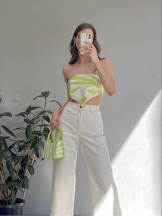 Casual Fall Outfits, Retro Outfits, Spring Outfits, Trendy Outfits, Girl Outfits, Fashion Outfits, Vintage Summer Outfits, Fashion Hacks, Modest Fashion