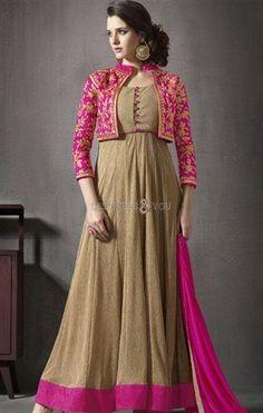 #Newanarkali dress #heavydesigner style #frockdesign for #stylishwomen #designersandyou