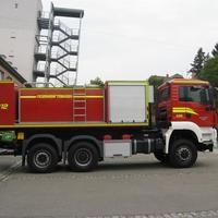 Wechselladerfahrzeug Feuerwehr Stadt Tübingen