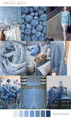 NICOLL BLUE by PatternCurator