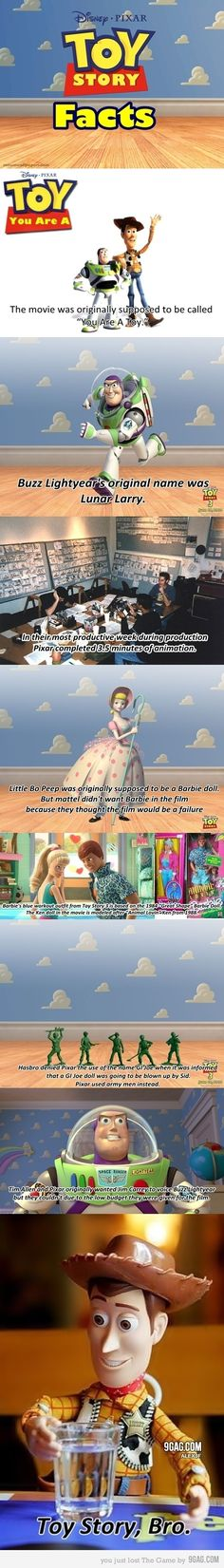 Stuff you didn't know about Toy Story. <3