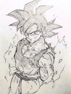 Dragon Ball Gt, Ei Nerd, Dbz Drawings, Fanart, Anime Sketch, Character Art, Character Design, Ball Drawing, Comic