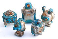 Designer toys Cris Rose – Steel Bluebird Sprogs