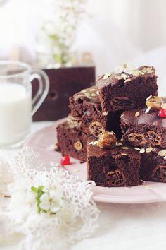 No egg, no milk, vegan brownie | Pasiune pentru bucatarie