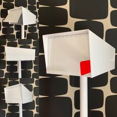 Modern mailbox inspired by mid century modern design. Handmade in the USA modern mailbox with post. Contemporary mailbox with FREE DOMESTIC SHIPPING. Post Mounted Mid Century Modern Mailbox with satisfaction guarantee. Modern Light Switches, Contemporary Mailboxes, Modern Mailbox, Mailbox Post, Mounted Mailbox, Mid Century House, Mid Century Modern Design, Modern Lighting, Mid-century Modern