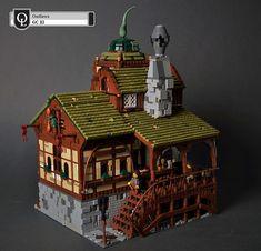 Lego Ville, Lego Burg, Casa Lego, Lego Army, Amazing Lego Creations, Lego Modular, Lego Castle, Brick Design, Lego Worlds