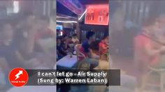 I can't let go  - Air Supply Sung by Warren Laban