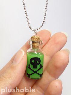 Poison in a bottle necklace 3 by voodoogrl on deviantART