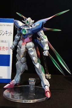 ELS クアンタ レジンキット(電撃ホビー) Arte Gundam, Gundam 00, Barbatos Lupus Rex, Gundam Toys, Gundam Wallpapers, Gundam Mobile Suit, Gundam Custom Build, Gundam Seed, Mecha Anime
