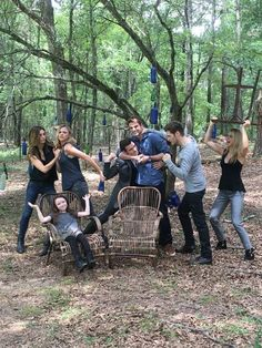 The Originals season 4 BTS