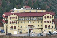 The largest National Historic Landmark building in Jerome, AZ and at one mile high, the views  are breathtaking.