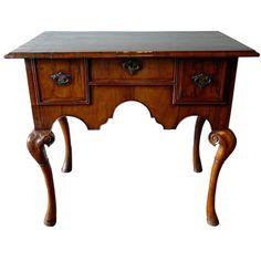 Queen Anne Period Furniture | Early 18th Century Queen Anne Period Lowboy.