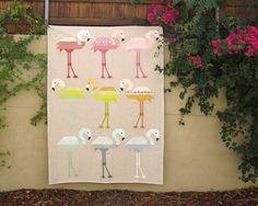 Patterns by Elizabeth Hartman — FLORENCE FLAMINGO pdf quilt pattern