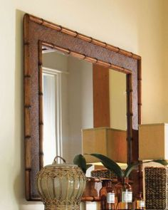 Product idea - love large mirrors. This is a Tommy Bahama...could be on east master or dining room walls to reflect the ocean views.
