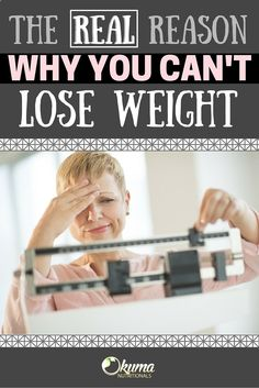 Find out why it could be so hard to lose weight and what you can do to make it easier! #loseweight #antiaging #oolongtea #saygoodbyetostress #okumanutritionals #slimtea #stress