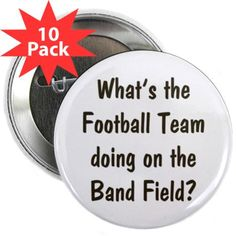 Shop Band Geek Button pack) designed by Band Geek. Lots of different size and color combinations to choose from. Band Mom, Band Nerd, Marching Band Quotes, Welcome To Class, High School Band, Jazz, Senior Gifts, Color Guard, Types Of Music
