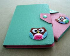 cover iPad mini, mini Soporte iPad, iPad Mini Caso en el color menta, Diseño lindo buho
