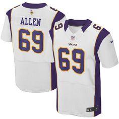shop the official Vikings store for a Men s Nike Minnesota Vikings  69  Jared Allen Elite 669a6aecc