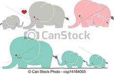 baby elephants set svg dxf file instant download stencil silhouette
