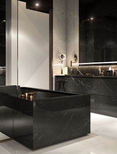 100 Must-See Luxury Bathroom Ideas | Luxury Bathroom Ideas that will open up your horizons as to how innovative bathrooms can get as far as using bathtubs is concerned. Get inspired by a range of bathroom styles that goes from hyper-luxury to the contemporary style. | www.bocadolobo.com #bocadolobo #luxuryfurniture #exclusivedesign #interiodesign #designideas #homedecor #homedesign #decor #bath #bathroom #bathtub #luxury #luxurious #luxurylifestyle #luxury #luxurydesign #tile #cabinet…
