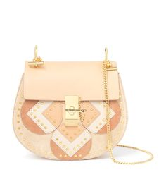 Chloé Drew Love Studs Shoulder Bag | Harrods