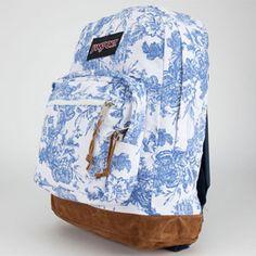 Blue Floral Backpack   Tilly's