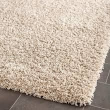 I chose rugs for texture.  Rugs are made to be comfortable for your feet but also to hold the dirt that you may have on your shoes.  They are rugged and shaggy.