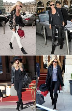 KATE MOSS STYLE ICON | Collage Vintage All black