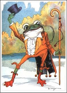 JEREMY FISHER GREETING CARD GIFT BLANK BIRTHDAY BEATRIX POTTER TOAD FROG VINTAGE