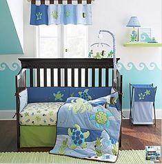 Nojo Sea Babies Crib Bedding And Accessories