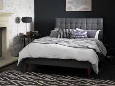 The Daisy Bedstead in Slate Wool