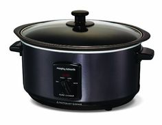 Morphy Richards Slow Cooker 48703 in schwarz, 3,5l mit Schmorfunktion Morphy Richards http://www.amazon.de/dp/B00888X526/ref=cm_sw_r_pi_dp_s9XRtb0ZAR08ZFT2