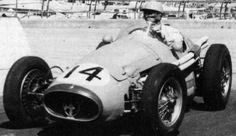 1955 Louis Rosier, Maserati 250F, Maserati