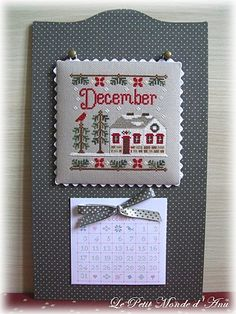 Le Petit Monde d'Anu - Pinner said:  This gives me all I need to know on how to re-do my perpetual calendar.  Nice!