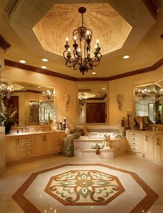 Luxury Master Bathroom With Fireplace: 20 Most Fabulous Dream Bathrooms That You'll Fall In Love Luxury Master Bathrooms, Dream Bathrooms, Dream Rooms, Beautiful Bathrooms, Master Baths, Modern Bathroom, Small Bathroom, Bathroom Ideas, Eclectic Bathroom