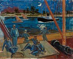 Axel Revold (1887-1962): Aftenstund på Nilen Painting, Art, Summer Recipes, Art Background, Painting Art, Paintings, Kunst, Drawings, Art Education
