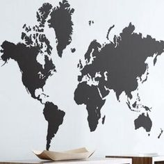 Mirror mirror on the wall whos your favorite asian of them all 13800 ferm living world map wall sticker 2modern materials self adhesive specifications sciox Image collections