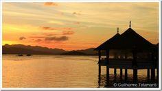 Por-do-sol em Coron, Filipinas