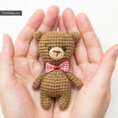 Pequeño oso de peluche simple crochet
