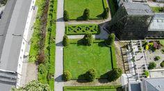 Ogród botaniczny z lotu ptaka [ZDJĘCIA Z DRONA] - Zdjęcie 57333 - LoveKraków.pl