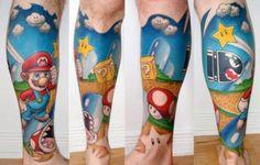 Tatuagem nerd!