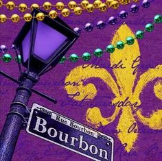 "Creative Converting Mardi Gras Lunch Napkins with Rue Bourbon Design, 18 Per Package by Creative Converting. $3.89. Napkins measure 6.5"" square. Includes 18 napkins per package. See Creative Converting's coordinating line of party goods and dinnerware. Square lunch napkins designed with a street light from Bourbon Street, a fleur de lis and Mardi Gras beads. Durable 2-ply strength and quality. From the Manufacturer                In the spirit of celebrating an annual carn..."