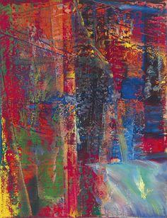 Gerhard Richter (b. 1932)Abstraktes Bild, Dunkel (613-2)  Post-War  Contemporary Evening Sale