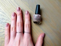 stylemaquillage: NAIL DIARY: OPI TICKLE MY FRANCE-Y