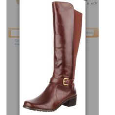 Anne Klein brown leather riding boots They've only been worn a handful of times, they're in amazing condition. Super comfortable & versatile. Price negotiable, comes with original box Anne Klein Shoes