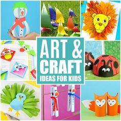 Premium Crafts For Kids Tons Of Art And Craft Ideas For Kids To . premium Crafts For Kids Tons Of Art And Craft Ideas For Kids To arts and crafts kids - Kids Crafts Summer Crafts For Kids, Paper Crafts For Kids, Crafts For Kids To Make, Arts And Crafts Projects, Design Crafts, Fun Crafts, Art For Kids, Wood Crafts, Fun Projects